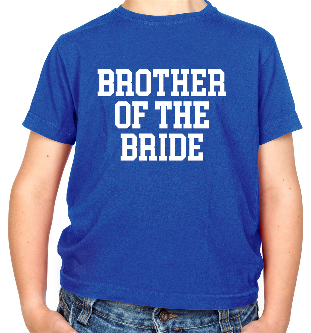 Brother Of The Bride Kids T-Shirt