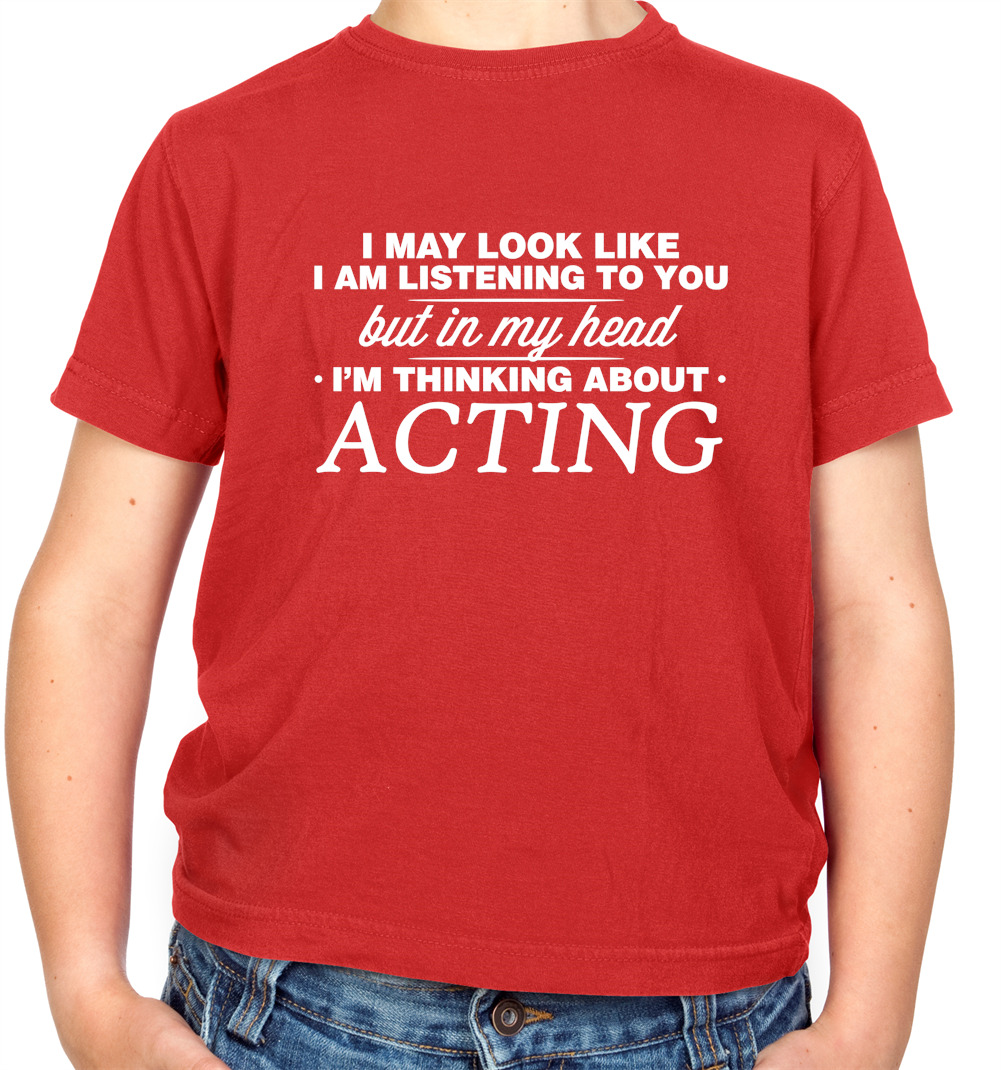 Actress Keep Calm and Act On Actor Acting Unisex Hoodie // Hooded Top