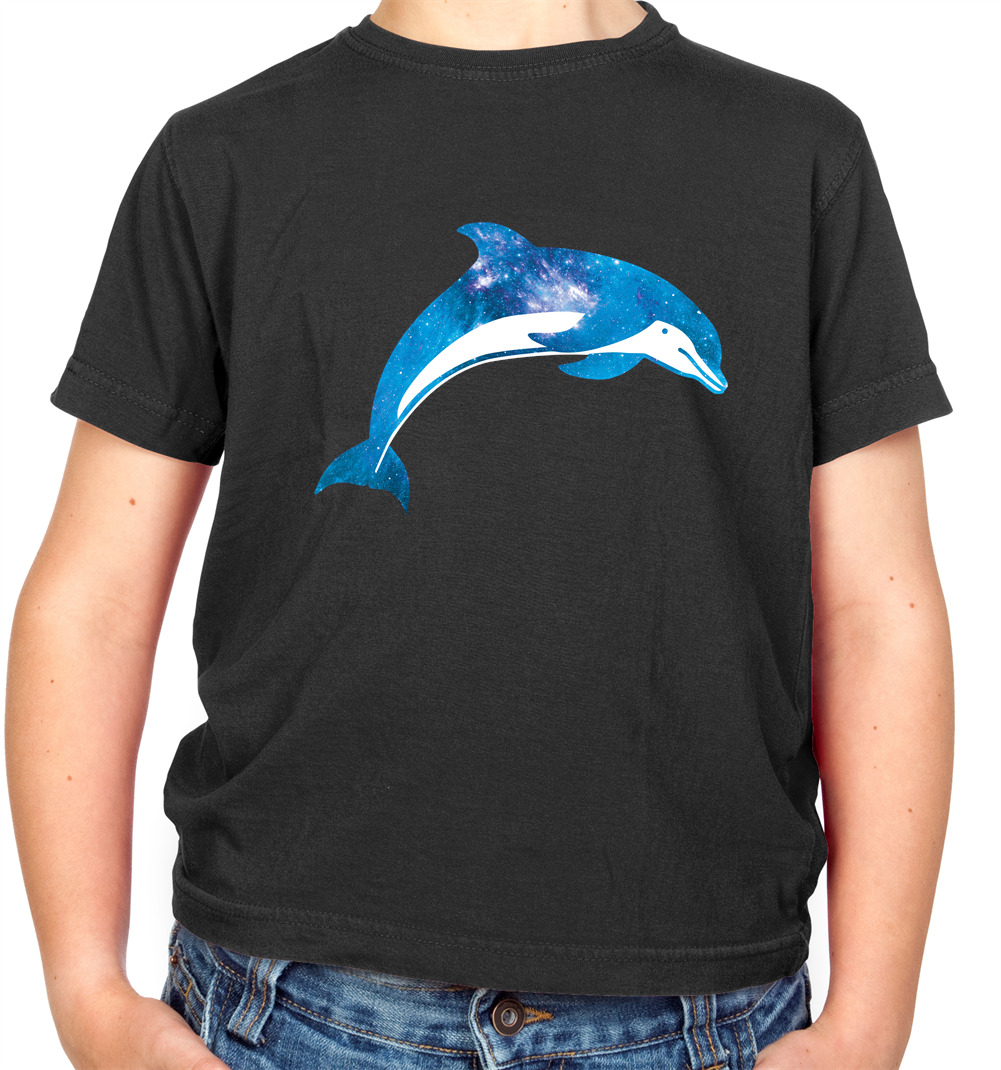 Dolphin Geometric Kid/'s T-Shirt Children Boys Girls Unisex Top