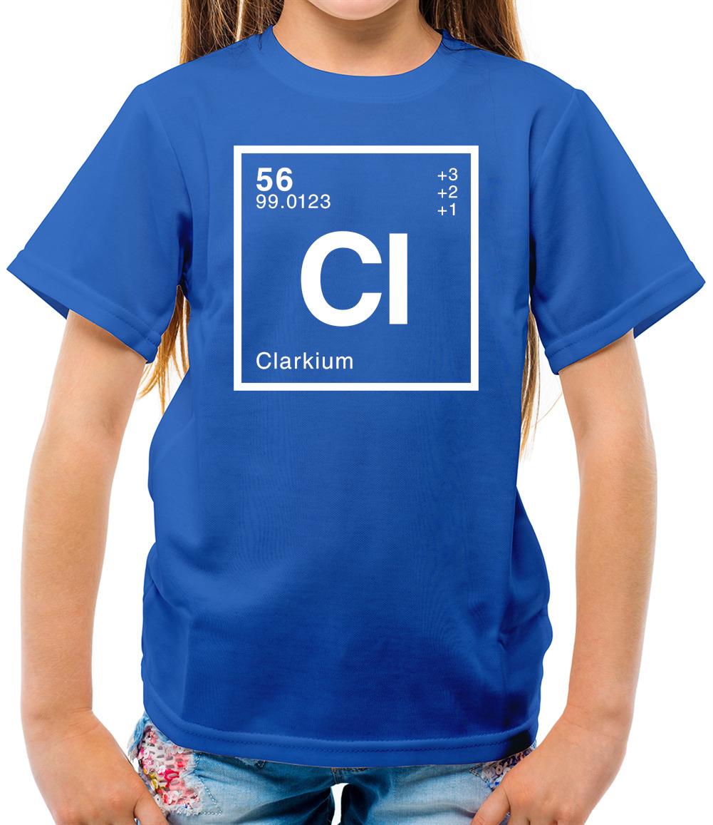 100/% Clark Name Family Gift Clark Surname Ladies T-Shirt