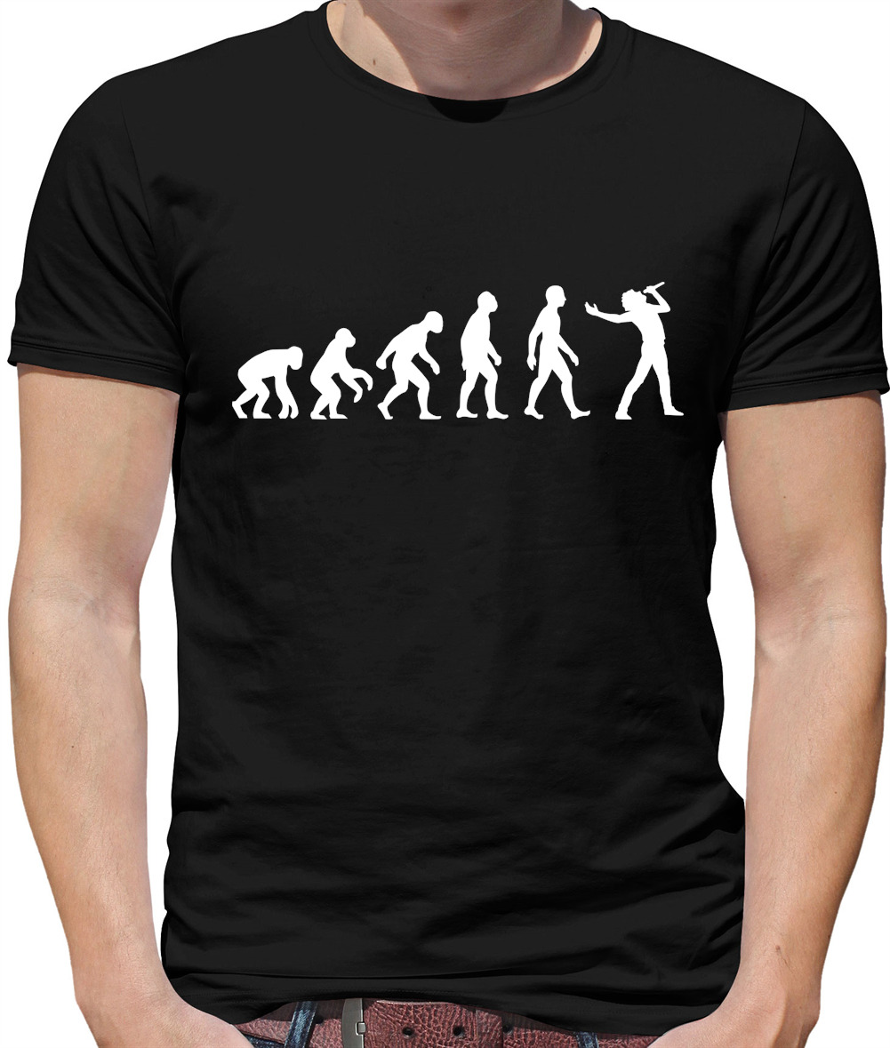 Singer T-Shirt This is what a Looks Like Mens Funny Artist Music Microphone TEE