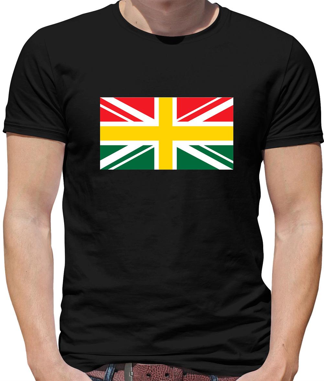 Ghana Union Jack Flag Ghana Kids // Childrens T-Shirt Union Flag -8 Colours