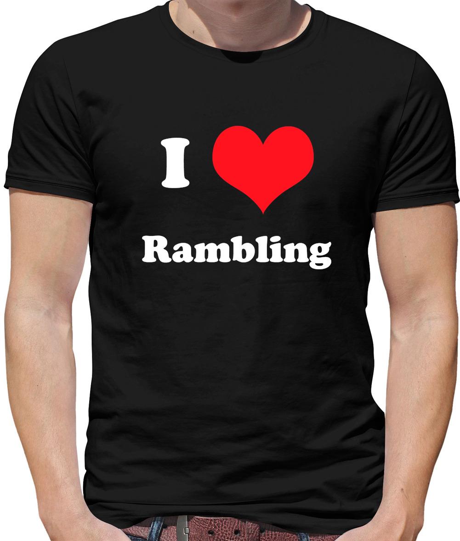 Trekking Rambling Walking T-Shirt The Mountain is Calling Mens Funny Climbing