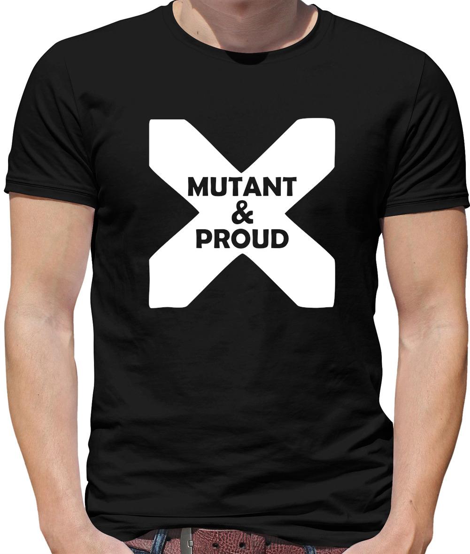 Men/'s Mutant Equality Now T-Shirt Super Hero Activist Funny Xman